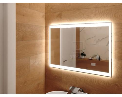 Зеркало в ванную комнату с подсветкой Инворио