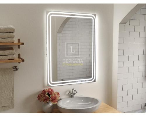 Зеркало в ванную комнату с подсветкой Моресс
